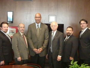 ACA members along with Assemblymember Chris Holden (D-Pasadena)