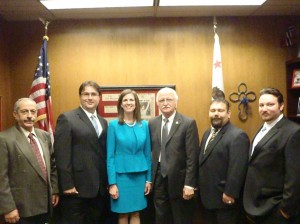 ACA members along with Assemblywoman Kristin Olsen (R-Modesto)
